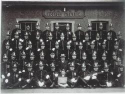 Swansea Harbour Trust Police Force 1923