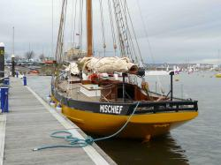 Mischief, built 2007, at Cardiff Bay