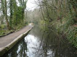 Last remaining section of the Glamorgan Canal