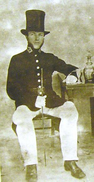 TVR policeman PC John Wallbridge c.1850